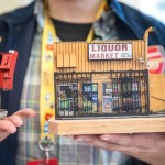 Scatch-Built Miniature Models of LA City Streets